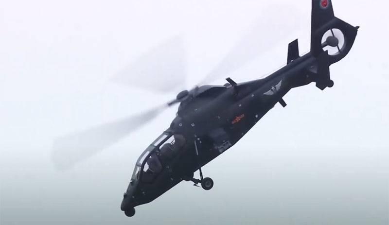 China afirma que su nuevo helicóptero es el mejor del mundo