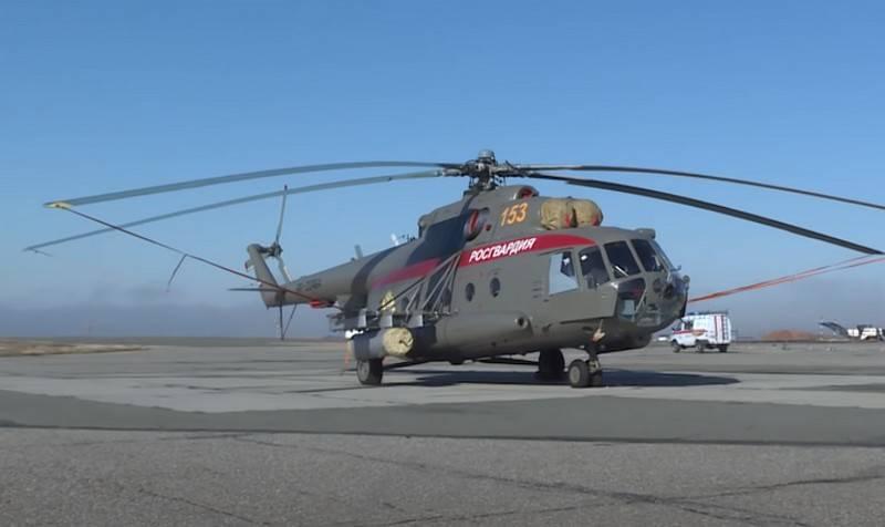Un nuevo escuadrón especial de guardias de la Guardia Rusa se formó en el norte del Cáucaso