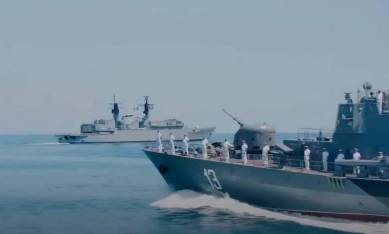 """美乌演习""""海风2020""""在黑海开始"""