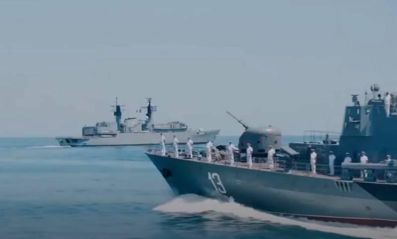 US-Ukrainian exercises Sea Breeze 2020 began in the Black Sea