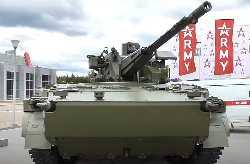 Combat module AU-220M with 57-mm cannon received a naval version