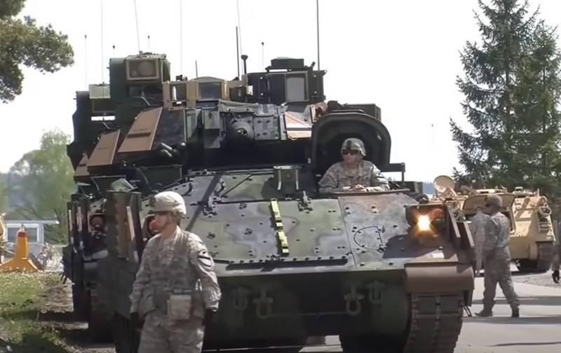 L'americano BMP Bradley riceverà una centrale ibrida invece di un diesel