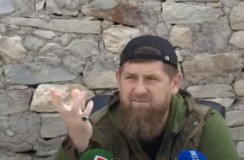 Ramchen Kadyrov, jefe checheno en la lista negra del Departamento de Estado de EE. UU.