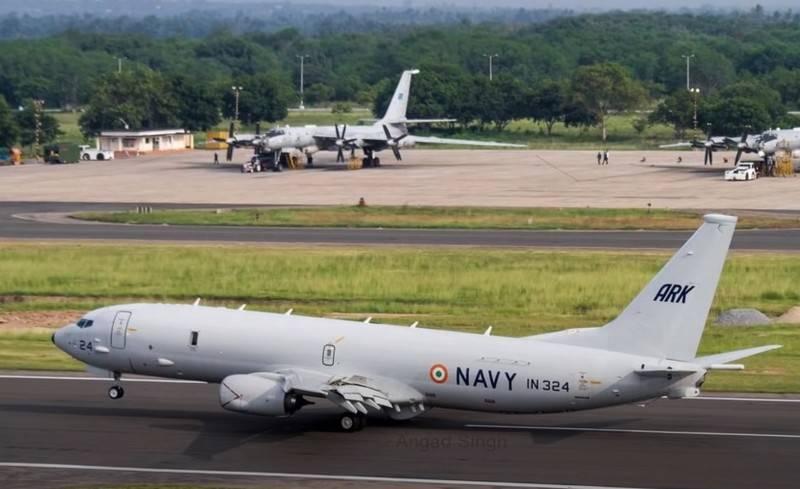 インドは8隻のポセイドンP-XNUMXI対潜航空機を受け取ります