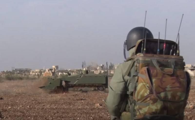 Das Verteidigungsministerium hat beschlossen, die Uran-6-Minenräumungssysteme an die Truppen zu liefern