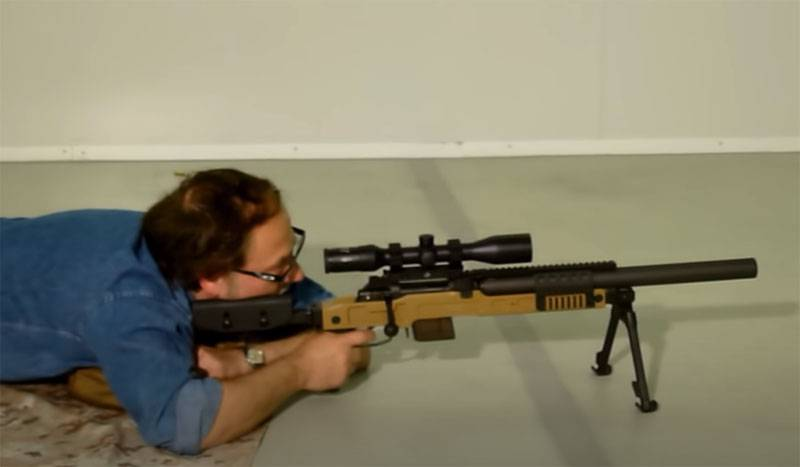 Comparison of the SPR300 sniper rifle with the Russian Vintorez and DVL-10M Saboteur in terms of noiselessness