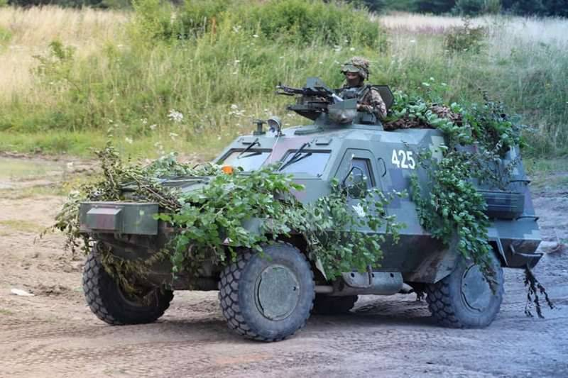 "Ukrainian armored vehicle ""Dozor-B"" adopted by the Armed Forces of Ukraine"