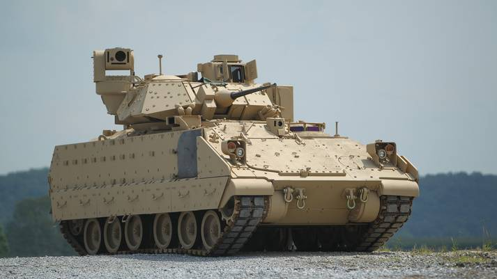 Restarting the OMFV program. Pentagon accepts bids for M2 Bradley replacement
