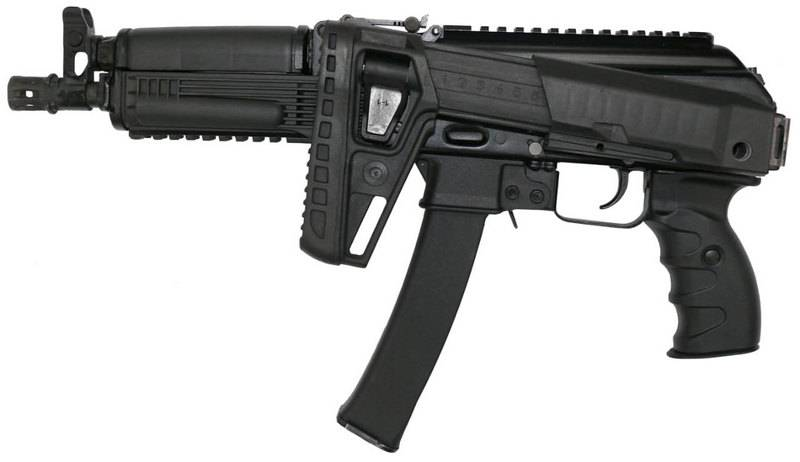 "The state tests of the new submachine gun ""PPK-20"" are completed"