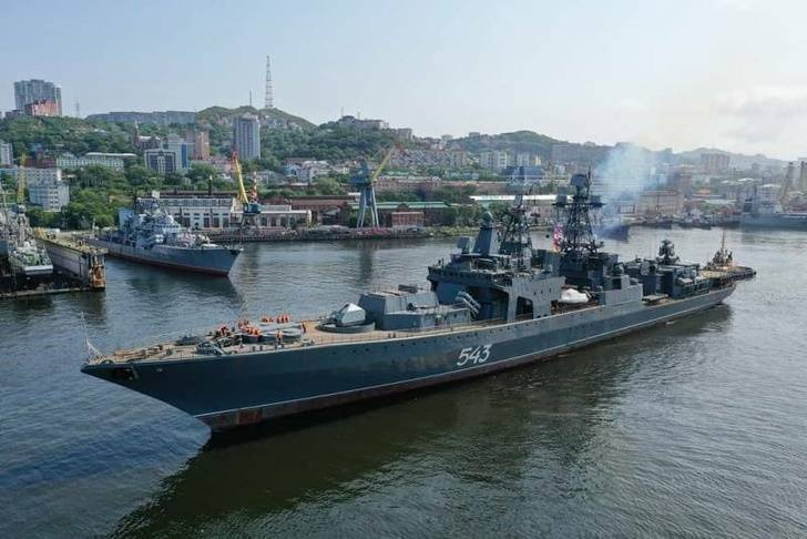"Defective modernization of ""Marshal Shaposhnikov"""