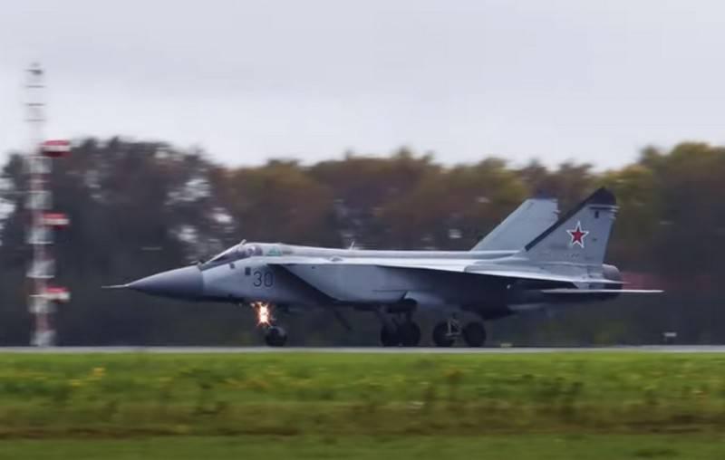 Das Verteidigungsministerium beabsichtigt, die Fluglebensdauer der MiG-31-Abfangjäger zu verlängern