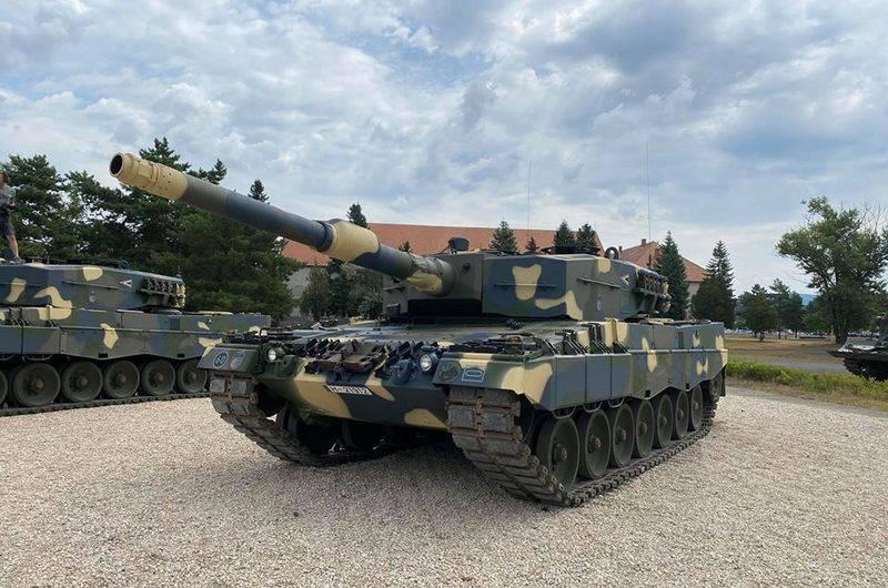 Hungría está armada con tanques alemanes Leopard 2A4