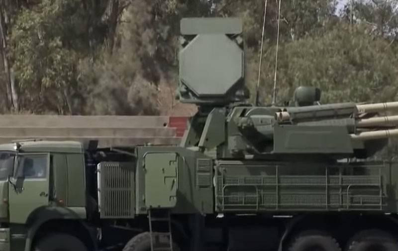Ci sono materiali sull'incapacità del sistema missilistico di difesa aerea Pantsir-C1 in Etiopia: sotto sospetto - fulmine
