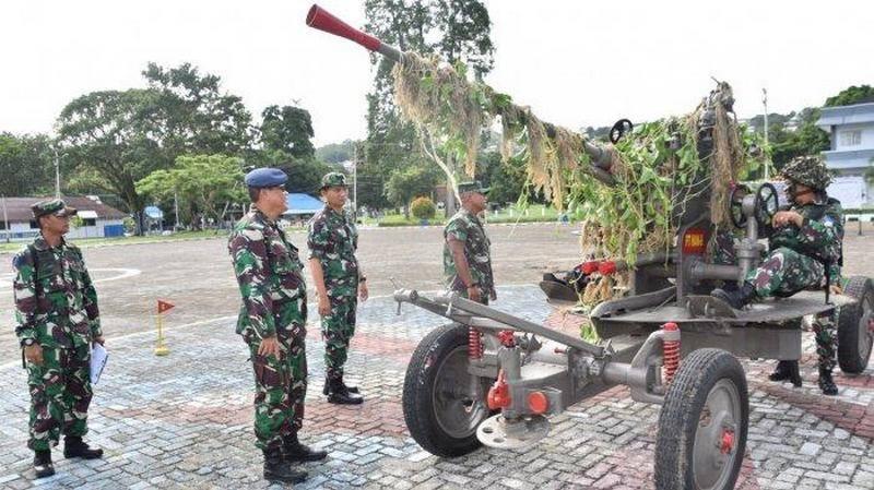 戦前のM1939がまだ運用中:インドネシアでソビエト対空砲が運用中
