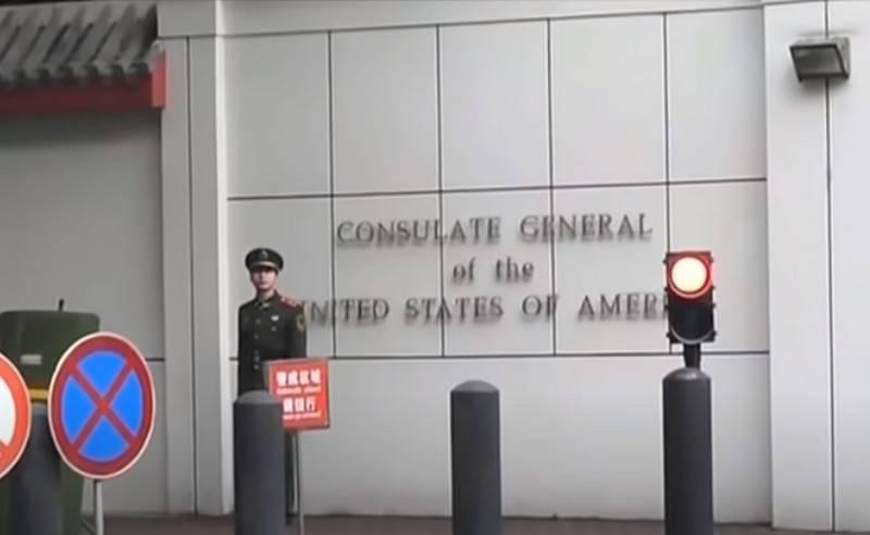 중국, 청두에서 미국 총영사관 폐쇄