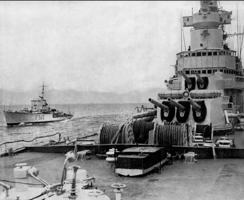 战斗舰。 巡洋舰。 贝拉,达里奇!