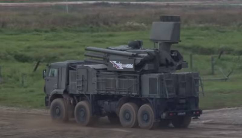 """Russian air defense missile systems """"Pantsir-S"""" received an automated control system"""