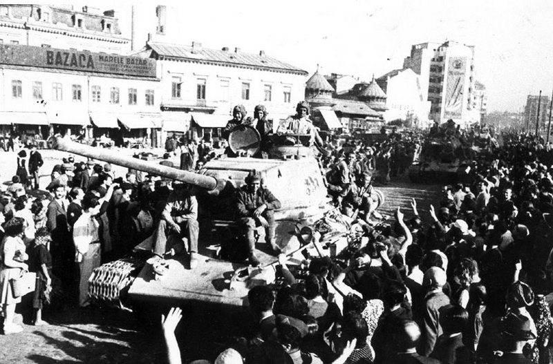 ルーマニアはナチスドイツに対する勝利の日付を9月8日からXNUMX月XNUMX日まで延期しました