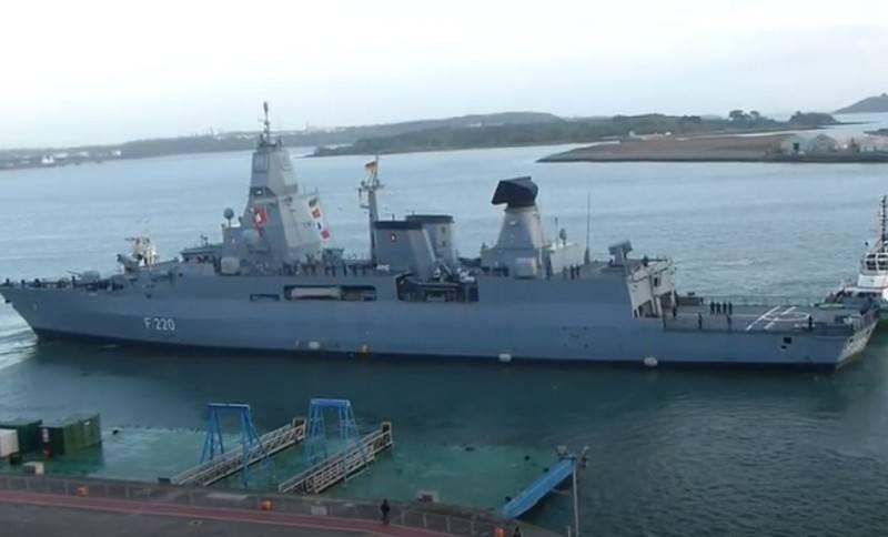 La Germania dirige la fregata Amburgo verso la costa libica