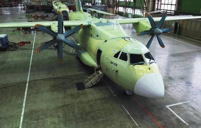 TsAGI anunciou o fim dos testes de vida útil da aeronave Il-112V