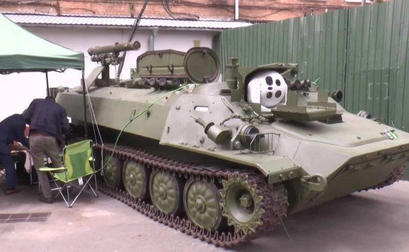 L'Ucraina ha modernizzato il sistema missilistico anticarro semovente Shturm-S
