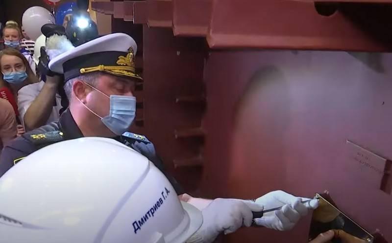 太平洋艦隊のRTOの遅延敷設がコムソモルスクオンアムールで行われた