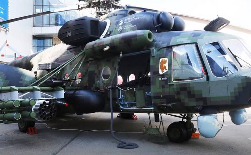 The Ministry of Defense plans to purchase a batch of Mi-8AMTSh-VN helicopters for the SSO