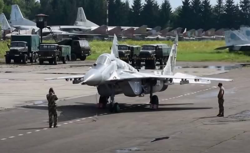Ukrayna MiG-29 savaşçılarını İsrail'in yardımıyla modernleştiriyor