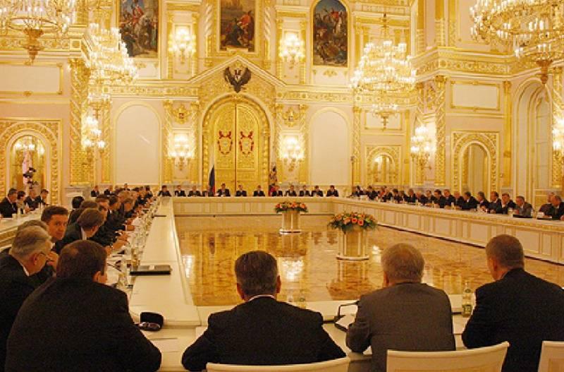 Госсовет России выходит из тени