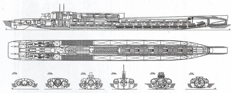 Атомный подводный блокадопрорыватель