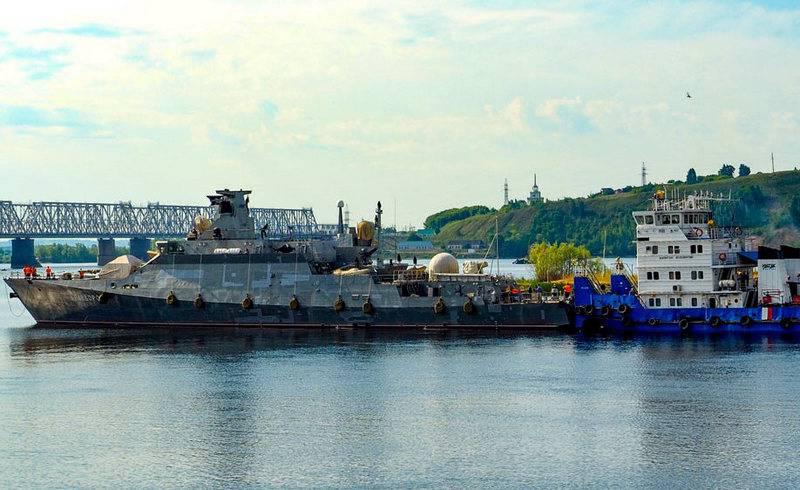 다른 Buyan-M은 올해 말까지 흑해 함대에 합류 할 것입니다