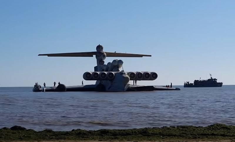 Der letzte Ausgang zum Meer: Der Lun Ekranoplan wird zur Hauptausstellung des Patriot Parks