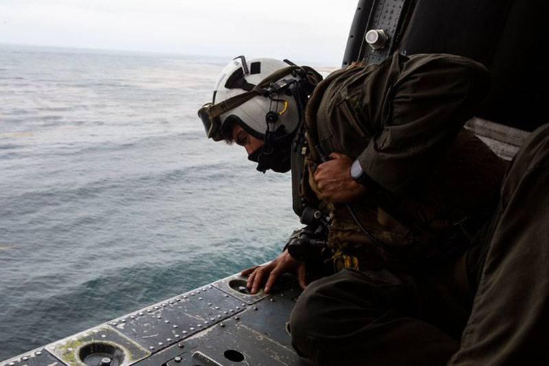 搜寻仍在寻找加利福尼亚美国海军陆战队附近的失踪人员