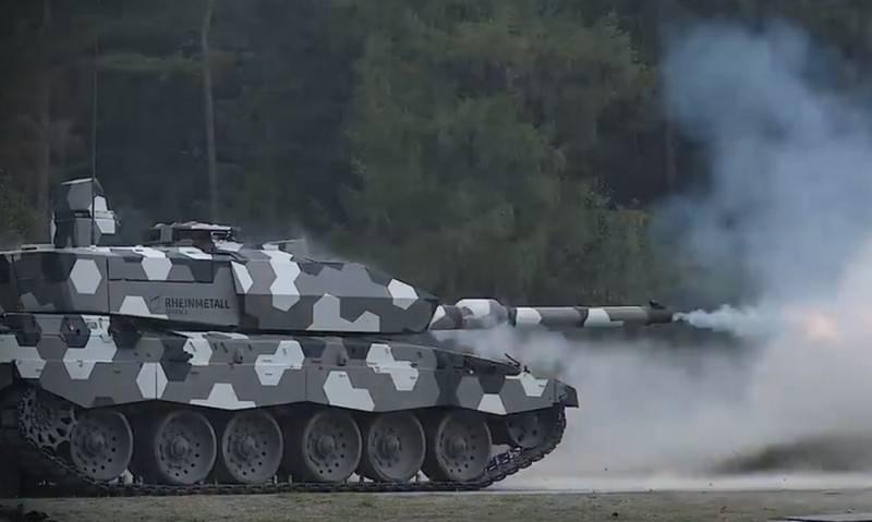 Rheinmetal showed tests of a promising 130-mm tank gun Next Generation (NG) 130