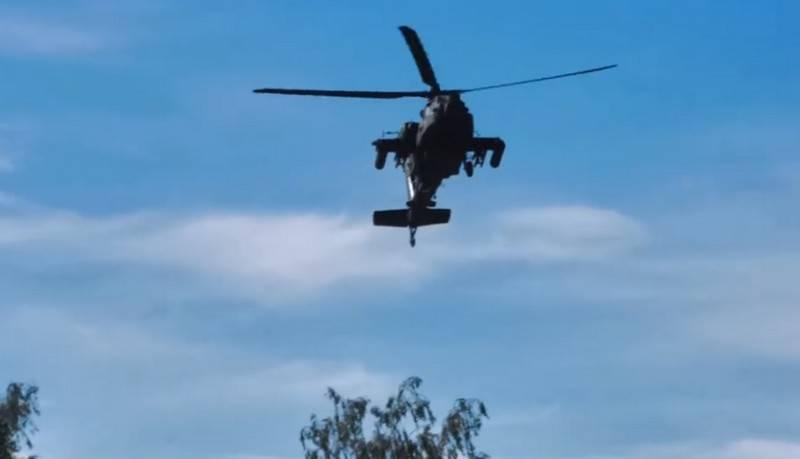 EUA enviaram nove helicópteros de combate para a Lituânia