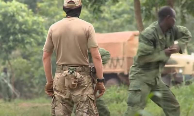 Germany learned about Russia's capabilities to create military bases in Africa