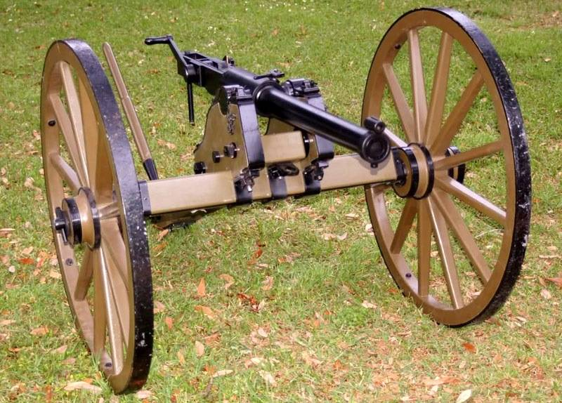 Artillery innovations of the civil war between North and South