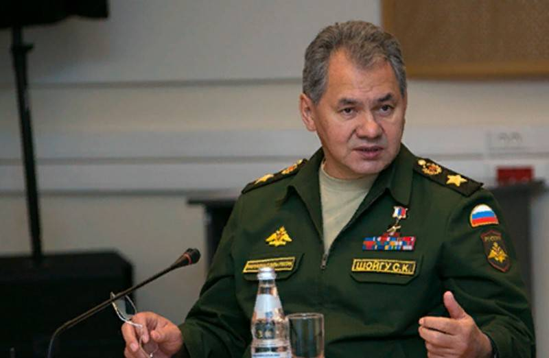 Shoigu introduced a new monetary allowance for certain categories of military personnel