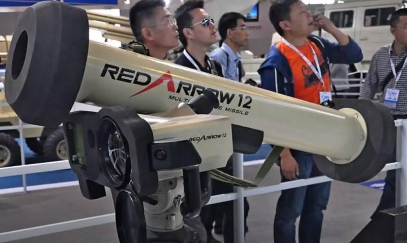 L'Algérie a été le premier clone chinois du Javelin américain ATGM