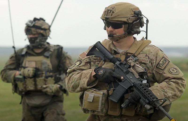 美国陆军第五军司令部部署在波兰