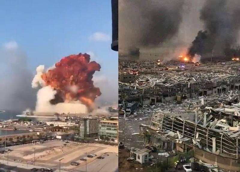 「広島を思い出させる」:ベイルートでは、爆発について話し、その理由を仮に挙げた