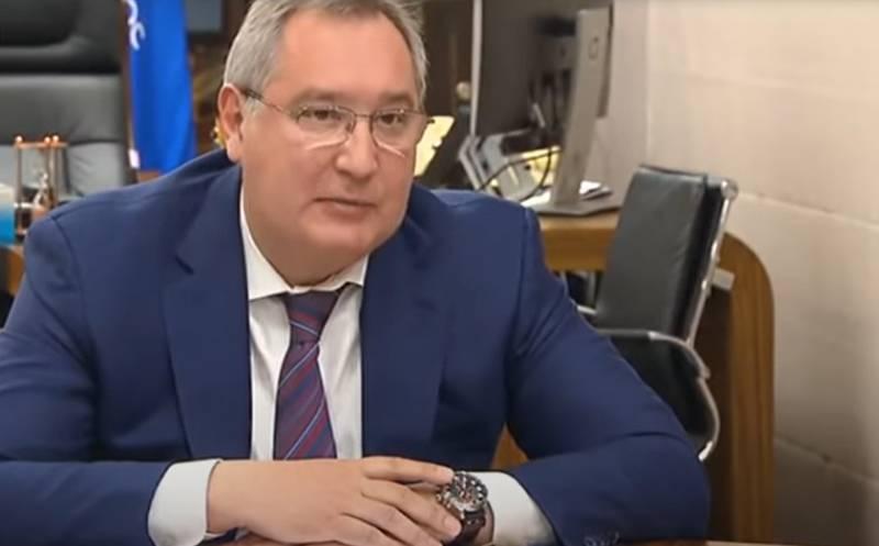 Rogozin anunció la orden de desarrollar un análogo del Buran soviético