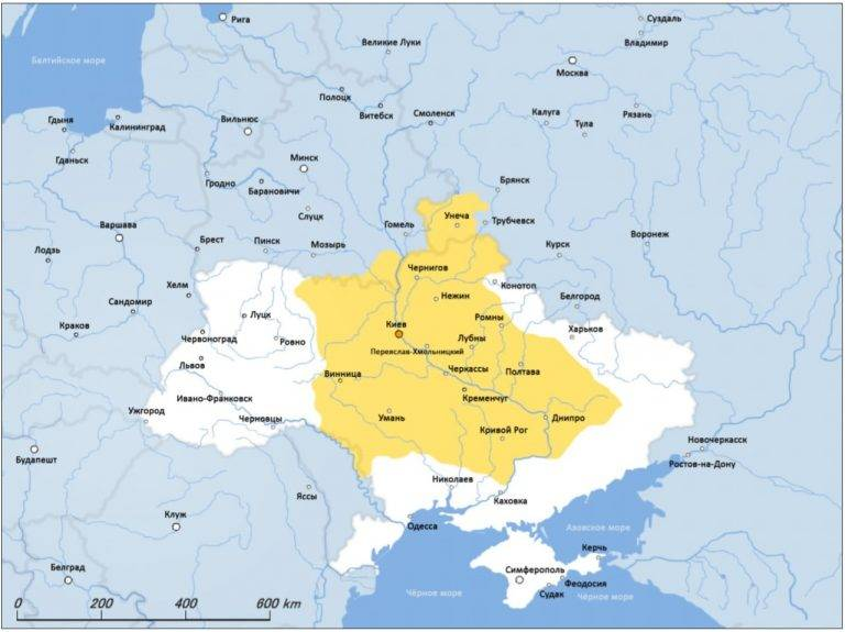 The fate of the Zaporozhye Cossacks
