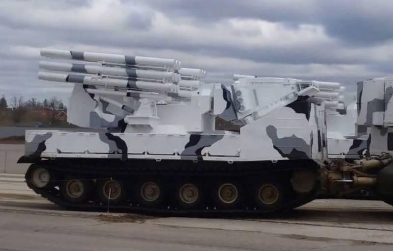 Des tirs d'essai du système de missiles de défense aérienne Pantsir-SA de la flotte du Nord ont eu lieu dans l'Arctique