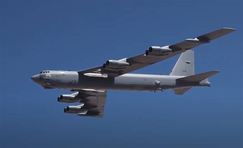 In the United States, they talked about testing a prototype of the AGM-183A hypersonic missile on a B-52H bomber