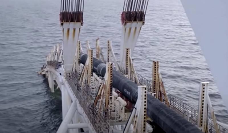 德国承认,Nord Stream 2的建设可能被冻结