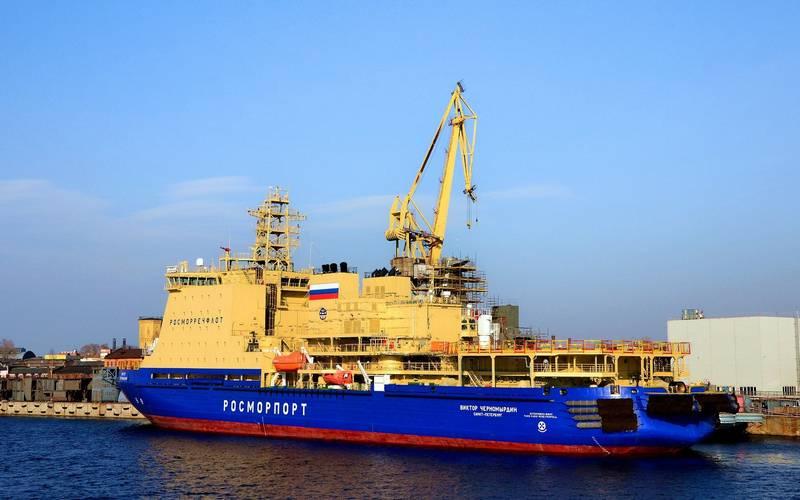 Un rompighiaccio apparirà nel Baltico