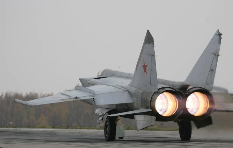 Um vídeo do MiG-31 pousando com uma roda arrancada do trem de pouso traseiro apareceu na web