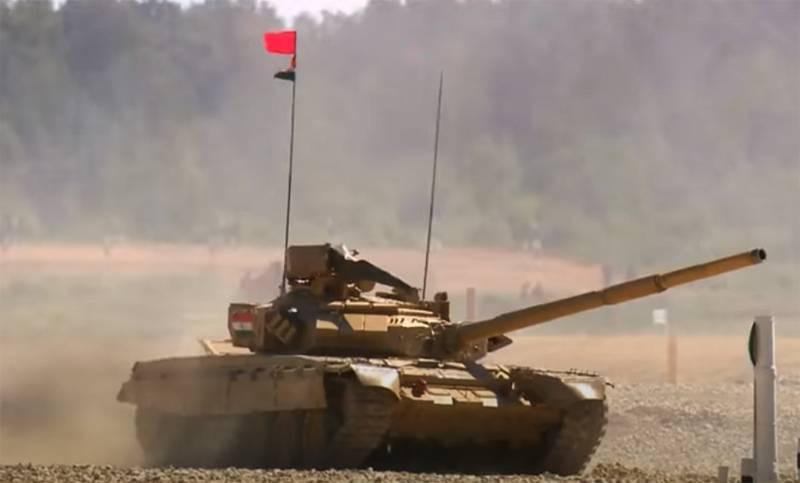 """Un officier en Inde a qualifié les """"problèmes mécaniques"""" du char T-90 de la raison de l'échec de l'équipe indienne dans le biathlon du char"""