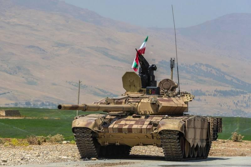 L'Iran modernise en profondeur ses chars T-72S